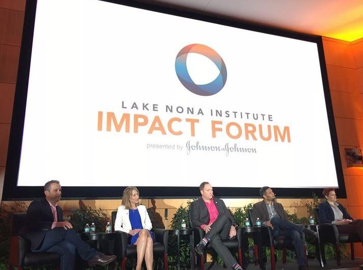 Lake Nona Impact Fourm 2017 Panel Discussion