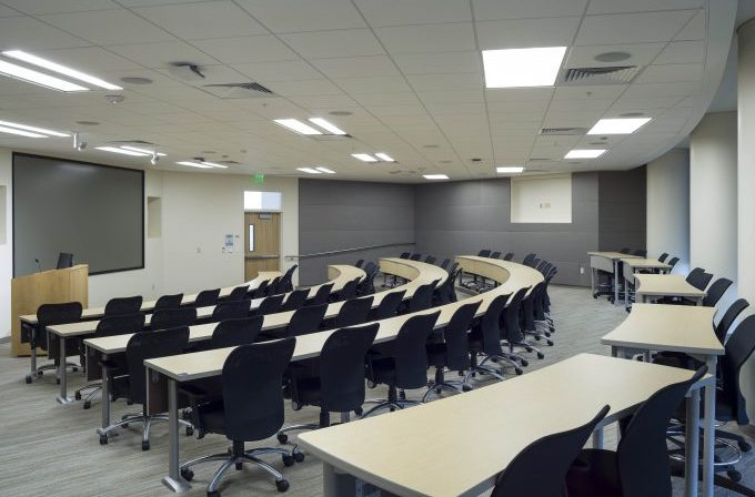 Lake Nona - Tiered Classroom